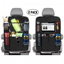 Backseat Car Organizer With 5 Storage Pockets And Tablet Holder