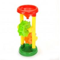 Double Sand Wheel Beach Toy Set