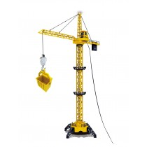 "50"" Wired RC Crawler Crane with Tower Light and Adjustable Height"