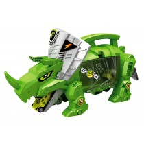 Dinosaur Storage Carrier for Your Dinosaurs and Cars (includes mini dinosaurs and car toys)