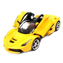 1/14 Scale Ferrari La Ferrari LaFerrari Radio Remote Control Model Car R/C RTR Open Doors (Yellow)