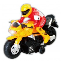 RC Motocycle Remote Control Toy (Yellow)