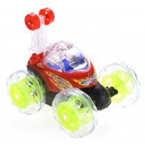 RC Stunt Twister Car w/ Light & Music (Red)