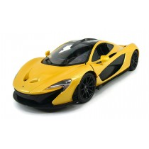 1:14 RC McLaren P1 Sport Car With Lights and Open Doors (Yellow)