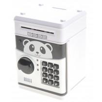 Cartoon Panda Electronic Password Protected Piggy Coin Bank