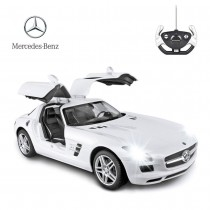 1:14 RC Mercedes Benz SLS With Open Doors And Lights (White)