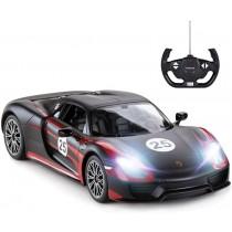 Porsche RC Car, 1:14 Porsche 918 Spyder RC Car | Porsche Toy Car for Kids (Black)