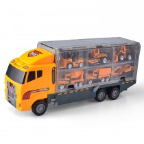 11 in 1 Die-cast Construction Truck Vehicle Carrier