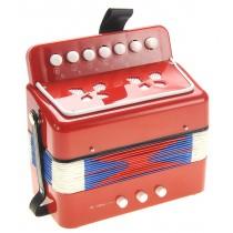 Children's Musical Instrument Accordion (Red)