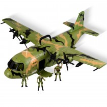 Military Combat Airforce Airplane C130 With Lights And Sound