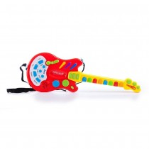 Electric Guitar Toy with Sound and Lights