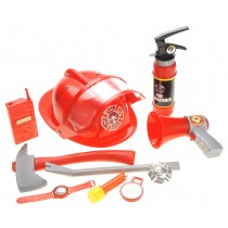 10 Piece Fireman Playset for Kids