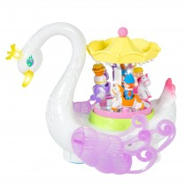 Musical Swan Rotating Carousel