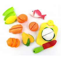 Cutting Board Play Food Playset