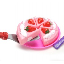 Strawberry Cake Dessert Play Set Toy