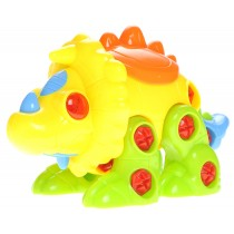 Interchangeable Dinosaur Toy With Screwdriver (Triceratops)