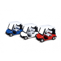 Toy Golf Cart Bundle (Red,White, and Blue)