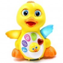 Baby Musical Duck Toys for Intelligence Training and Toddler's (Adjustable Sound)