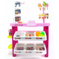 Dessert Shop 40 piece luxury supermarket grocery playset
