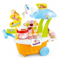 Super Market Sweet Shop Playset Orange