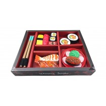 Japanese Sushi Dinner Bento Box Pretend Play