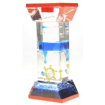 Liquid Motion Bubbler With One Wheel (Blue)