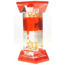 Liquid Motion Bubbler With Two Wheels (Red)