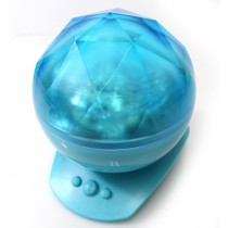 Color Changing Led Night Light Lamp (Blue)