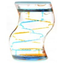 Liquid Motion Bubbler (Blue Orange)