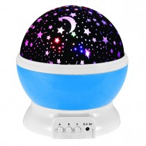 Night Light Projection Lamp (Blue)