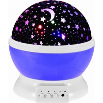 Night Light Projection Lamp (Purple)