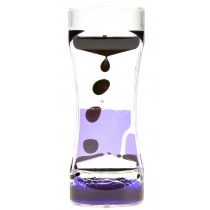 Liquid Motion Bubbler Black Purple