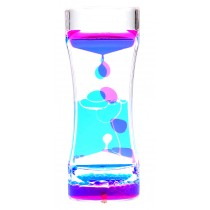 Liquid Motion Bubbler Dark Blue Pink