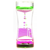 Liquid Motion Bubbler (Pink Green)