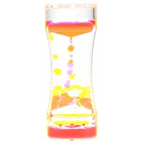 Liquid Motion Bubbler Yellow Pink