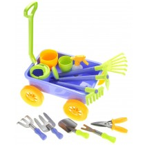 Garden Wagon & Tools Toy Set