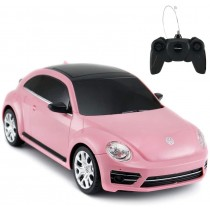 1:24 Scale Beetle RC Car (Pink)