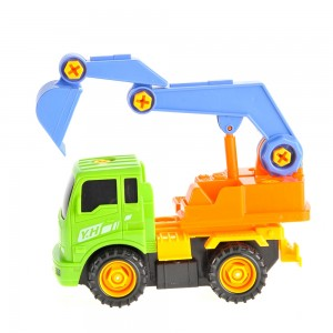 Take-A-Part Excavator Truck Set