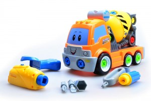 Take Apart Build Your Own Cement Mixer Truck