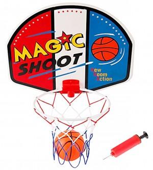 Magic Shot Mini Basketball Hoop Set With Ball And Pump