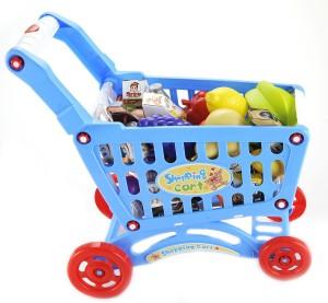 Shopping Cart Play Set (Blue)