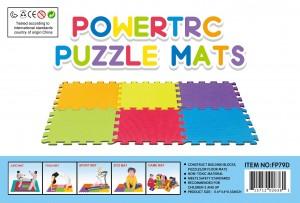 Puzzle Mat 10 sf (5'x2') Foam Mat