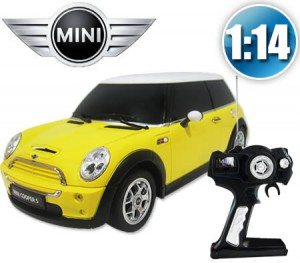 1:14 RC Minicooper (Yellow)