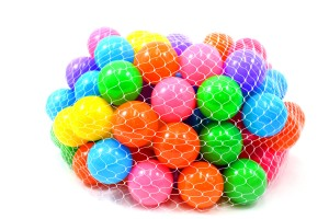 """2.5"""" Crush-Proof Pit Balls (Pack of 100)"""