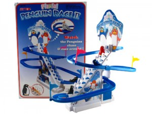 "Playful Penguin Race II PP17  - Large Size 13"" High After Assemble"