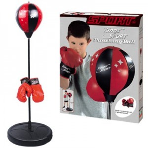 Kings Sport Boxing Punching Bag With Gloves Punching Ball
