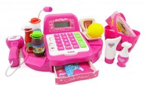 """12"""" Pink Supermarket Cash Register"""