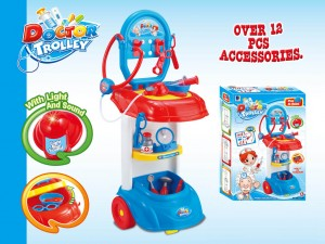 Doctor Trolley Playset Toy