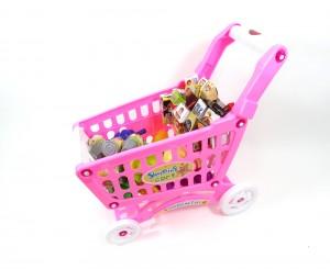 Shopping Cart Play Set (Pink)