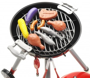 BBQ Grill PlaySet Toy